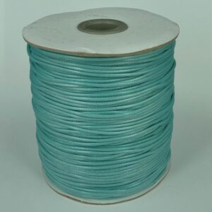 *10 meter 1,5mm bomuld, aqua blå