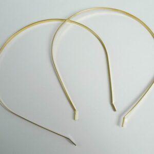 2. sortering *Hårbøjler i forgyldt metal
