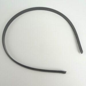 25 stk. Hårbøjler, sort plast 7mm